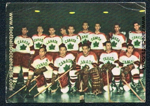 1960 the WC'58 team Canada Ice Hockey gold medalists by Heinerle